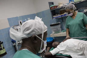 Emergency surgery in Maroua, North Cameroon