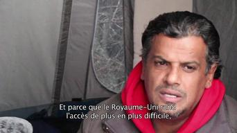 Interview - Abdulla Mohammad, Kuwaiti migrant in Calais (FR)