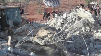 SYRIA - Another hospital destroyed in Idlib province (INT)