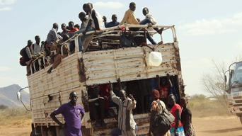 Refugees transport to Kakuma