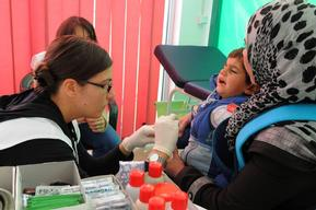 Medical help for refugees in Serbia