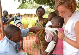 Measles Vaccination in Maniema, DRC