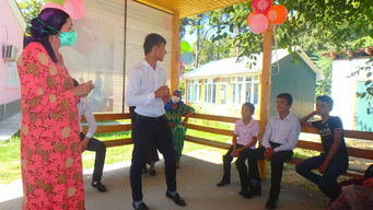 Play Therapy in Tajikistan
