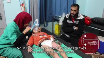 WALK & TALK: MSF outpatient clinic in Gaza City (FR)