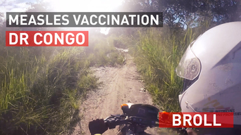 Measles Vaccination in Maniema | BROLL