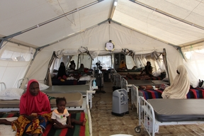 Intensive Therapeutic Feeding Center in Gwange