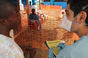 Liberia - Foya Ebola management centre