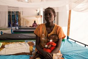Malakal Patient Story: Mary James and Nya Gaw