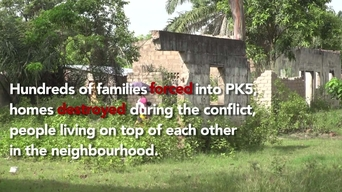 WEBCLIP - Displaced Central Africans living in Bangui's Muslim enclave, PK5, CAR (ENG)