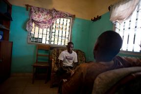 People living with HIV - Psychosocial Support for PLHIV in CTA - CMC Matam Conakry, Guinea