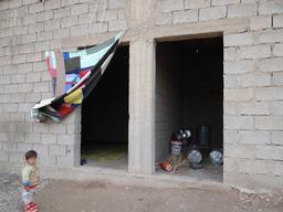 Syria, Idp's living in precarious conditions, MSF, nov 2012
