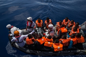 SAR in the Mediterranean - Dignity I