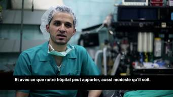 Dr Abu Huthaifa – Surgeon in Aleppo (Part Two) FR