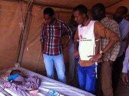 Kenya - Cholera epidemic in Dadaab refugee camps