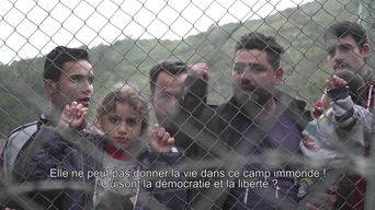 WEBCLIP: Walid, refugee from Iraq, held in detention centre on Samos, Greece (FR)