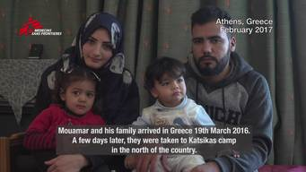 WEBCLIP: Mouamar & Rawan. A Syrian family stuck in Greece (ENG)