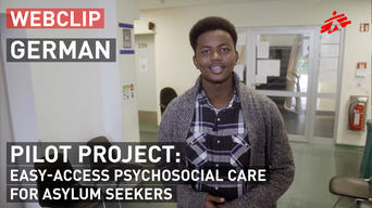 Pilot project in Germany: Easy-access psychosocial care for asylum seekers | GERMAN