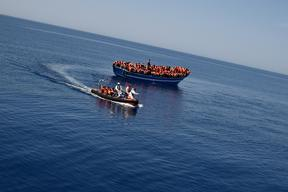 MSF Mediterranean Search and Rescue Operation I: First Rescue