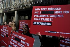 AskPharma Protest