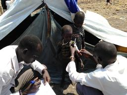 south Sudanese refugees in Ethiopia's Gambella region