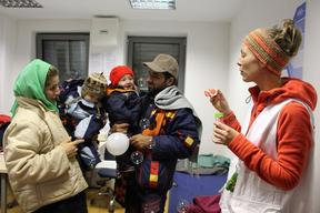 "Slovenia: ""People need human warmth"""