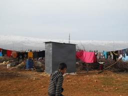 Lebanon - Syrian refugees facing the hardship of winter