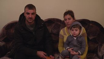 WEBCLIP. Khaled, Yazidi family from Iraq (ENG)