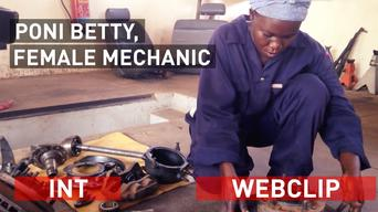 Poni Betty - Female Mechanic - International Version
