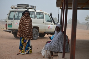 MSF treats malaria cases in Dan Issa, southern Niger