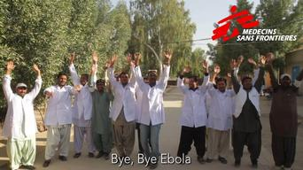 MSF staff in Dera Murad Jamali stand united against Ebola Pakistan