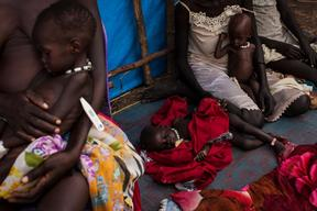 South Sudanese refugees in Ethiopia's Gambella region, Lietchuor camp