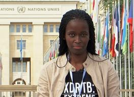 Phumeza Tisile (survivor of drug-resistant TB) went to Geneva, for the 67th World Health Assembly (WHA)