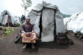Displaced in Goma. Sotraki & Bulengo camps