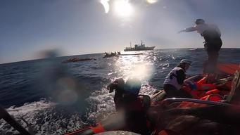 99 Survivors Rescued Sinking in Mediterranean Sea - Many Presumed Drowned