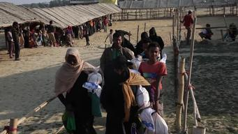 Extended Broll Rohingya Exodus - 6 months