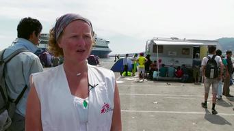 BROLL | Mobile clinic in Lesbos