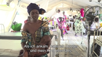 WEBCLIP: Fatima's daughter is in an MSF ITFC in Maiduguri (DE)