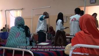 WEBCLIP: Short interview with Joanne Liu in Maiduguri, Nigeria (FR)