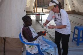 MSF Cholera Treatment Center Juba, South Sudan