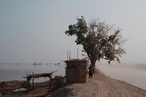 MSF intervention after floods in and around Jacobabad, Pakistan, November 2012.