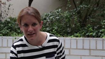 Natalie Roberts, emergency co', talks of access to healthcare in north Yemen 3 (ARABIC)