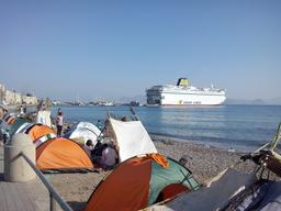 Greece: Ferry Set Up As Registration Centre In Kos