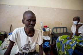 People living with HIV - TB co-infected Patient Ignace Deen Hospital Conakry, Guinea