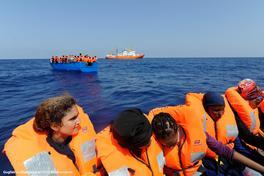 Foto: Guglielmo Mangiapane/SOS Mediterranee