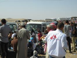 Syrian Refugees in Iraq - August 2013