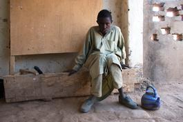 Patient with hepatitis E in Siebe, Chad - January 2017