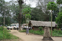 DRC- Zunguluka health center