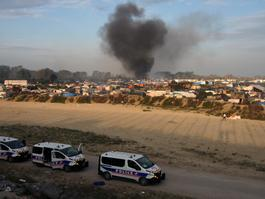 Third day of Calais Dismantlement