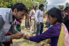 Mobile clinic at Kuni village in Dhading District