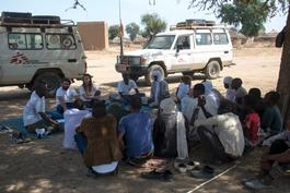 Fighting hepatitis E in villages, Chad - January 2017